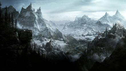 Computers the elder scrolls v: skyrim consoles wallpaper