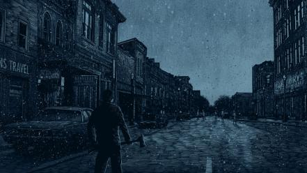 Daniel danger silent hill artwork wallpaper