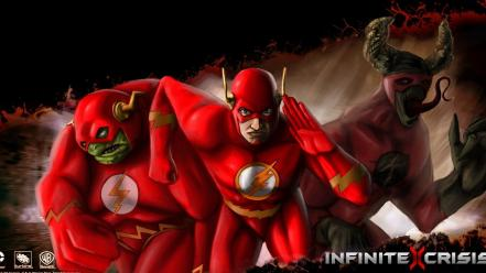 Flash comic hero infinite crisis wallpaper