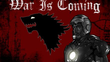 Game Of Thrones House Stark Iron Man Tony Wallpaper 44893