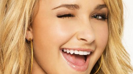 Hayden panettiere face Wallpaper