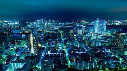 Japan tokyo city lights cityscapes wallpaper