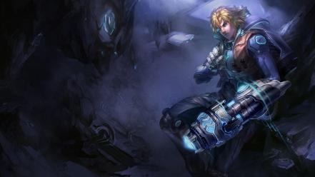 League of legends guy ezreal game Wallpaper