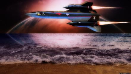 Sr-71 blackbird aircraft aviation military wallpaper