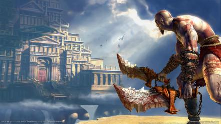 God Of War 2 Game Hd wallpaper