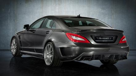 Supercars tuning static mansory mercedes benz cls wallpaper