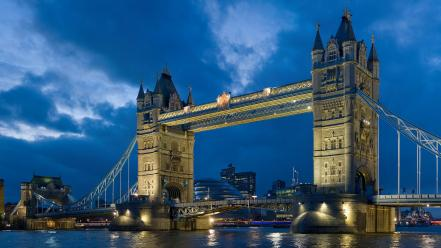 Tower Bridge London Twilight wallpaper
