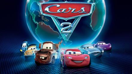 3d cartoon car wallpaper
