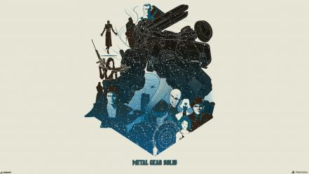 Art sons of liberty ocelot hideo kojima Wallpaper