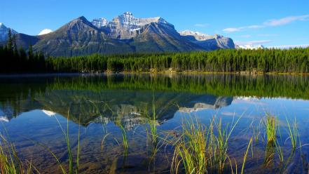 Banff canada lakes landscapes mountains wallpaper