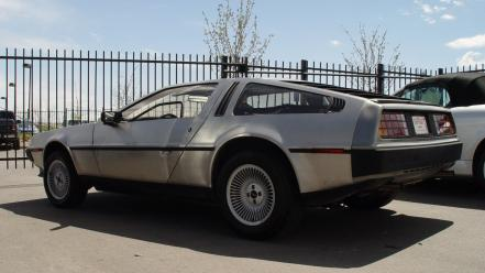 Cars delorean dmc automobile Wallpaper
