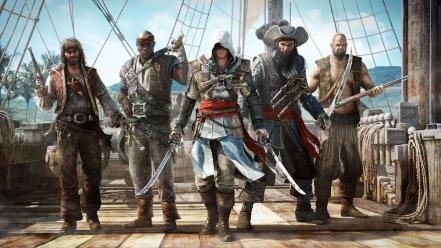 Creed pirates weapons warriors black flag weapon Wallpaper
