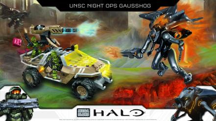 Halo 4 master chief mega bloks warthog wallpaper