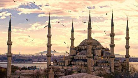 Istanbul turkey ahmed cities cityscapes wallpaper