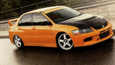 Japanese mitsubishi lancer evolution viii cars wallpaper
