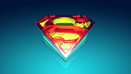 Justin maller superman logo digital art vectors wallpaper