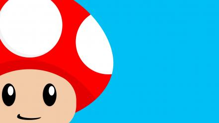 Mario mushrooms wallpaper