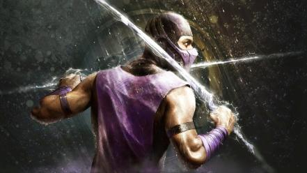 Mortal kombat ice rain video games wallpaper