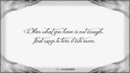 Video games quotes grayscale wisdom motivational antichamber wallpaper