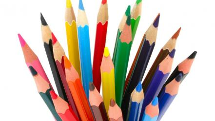 2005 colored pencils colors macro wallpaper