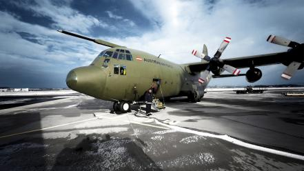 Austria austrian armed forces army c-130 hercules wallpaper
