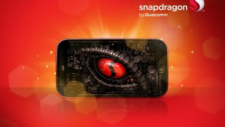 Dragons eye snapdragon Wallpaper