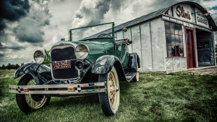 Ford retro vintage cars wallpaper