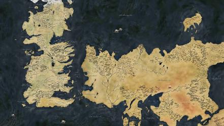 Game of thrones maps wallpaper