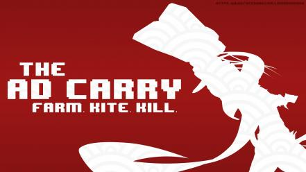 League of legends ad carry lol simple wallpaper | (132480)