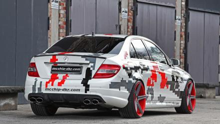 Mercedes benz c63 amg c 63 mcchip dkr wallpaper