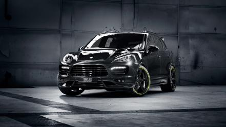 Porsche cayenne techart cars tuning wallpaper