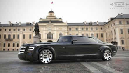 President russian zil architecture cars wallpaper