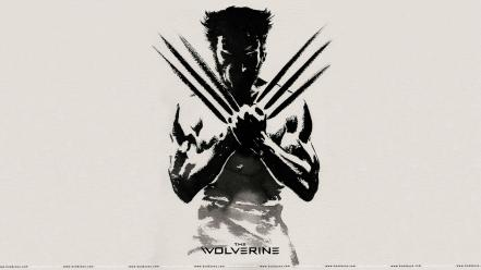 The wolverine grayscale Wallpaper