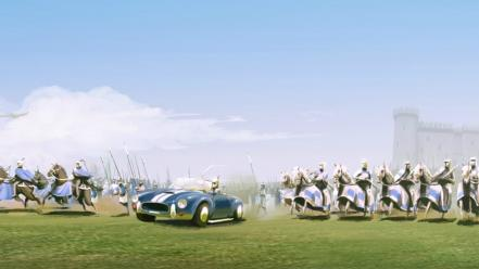 Age of empires 2 shelby cobra video games wallpaper