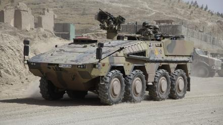 Apc afghanistan armoured personnel carrier german armed forces wallpaper
