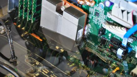 Computers hardware motherboards oil server wallpaper