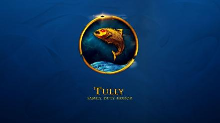Game of thrones house tully wallpaper