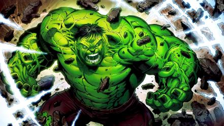 Hulk comic character marvel comics artwork superheroes Wallpaper