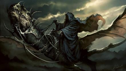 The lord of rings nazgul ringwraith wallpaper