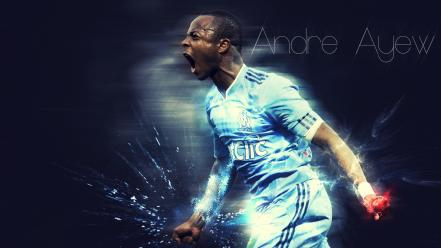 Andre ayew soccer sports wallpaper