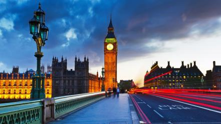 Big ben england london cities cityscapes Wallpaper