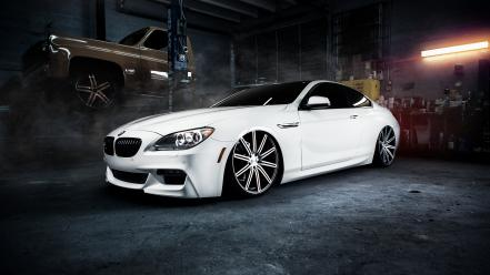 Bmw m6 white wallpaper