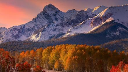 Colorado dallas autumn colors forests wallpaper