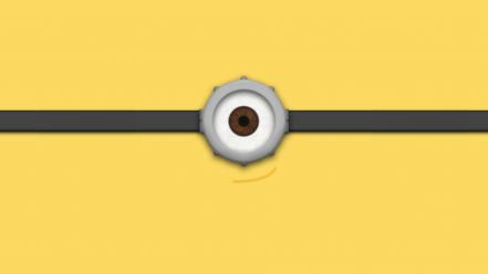 Despicable me 2 faces minions movies wallpaper