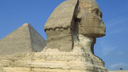 Egypt architecture pyramids sphinx wallpaper