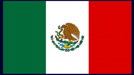 Mexico flags nations wallpaper