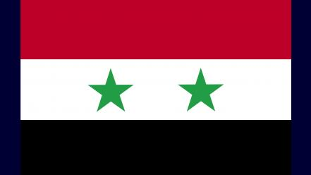 Syria flags nations Wallpaper