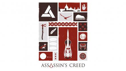 Animus assassins creed desmond miles ubisoft fan art wallpaper