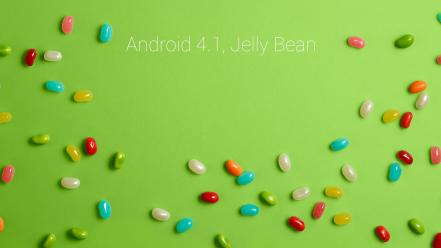 Jelly bean wallpaper