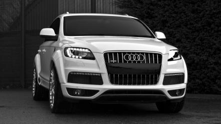 Design audi q7 german cars suv front Wallpaper